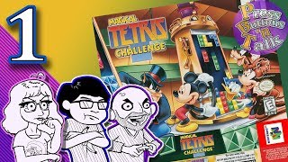 Magical Tetris Challenge, Ep. 1: Great Didney Voices - Press Buttons 'n Talk
