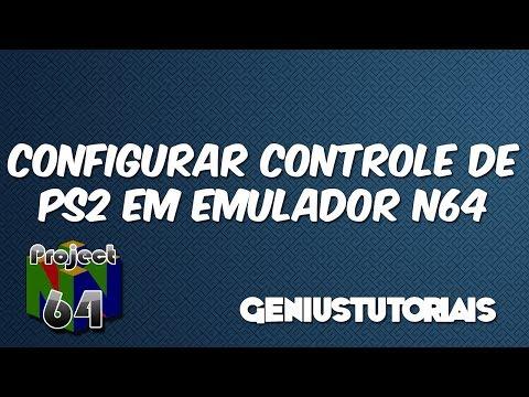 Como Configurar Controle de Playstation 2 (Joystick) no Emulador de Nintendo 64