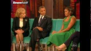 "Barack & Michelle Obama on the ""View"" [Complete]"