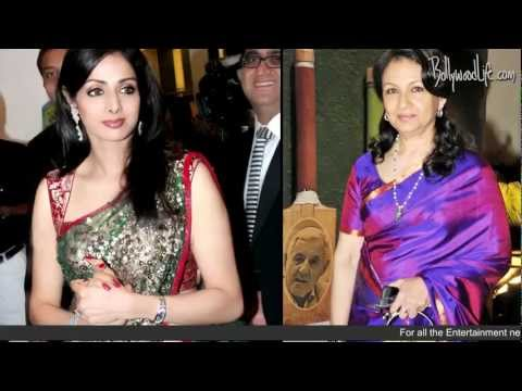 Sridevi and Sharmila Tagore receive Padma Bhushan