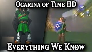 Ocarina of Time HD, Ura Zelda & Majora's Mask HD | Everything We Know