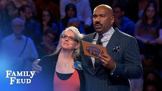 Jen needs 4 #1's for $20,000... | Family Feud