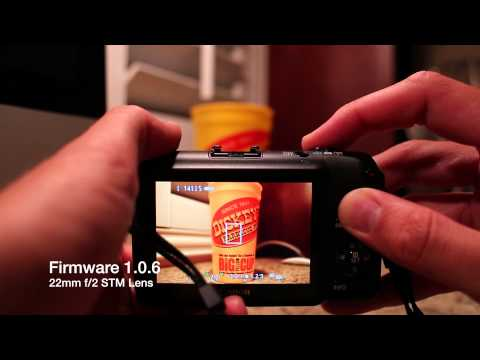 Canon EOS-M Firmware Update 2.0.2 Autofocus Speed