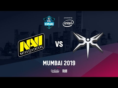 Na`Vi vs Mineski, ESL One Mumbai 2019, bo3, game 1 [Adekvat & Lost]