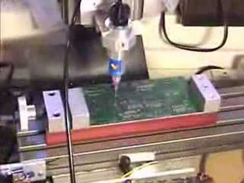 CNC Taig Mill Solder Paste Dispenser
