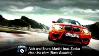 download musica Alok and Bruno Martini feat Zeeba - Hear Me Now Bass Boosted