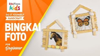Easy Photo Frame from Ice Cream Stick | DIY | Handcraft