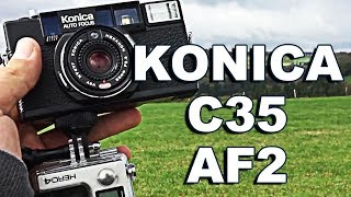 Konica C35 AF2 Film Camera Review (+Photos) !BACK TO ANALOG! #9