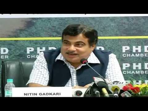 Shri Nitin Gadkari addresses National Road & Highway Summit at Siri Fort Auditorium - 15th July 2014
