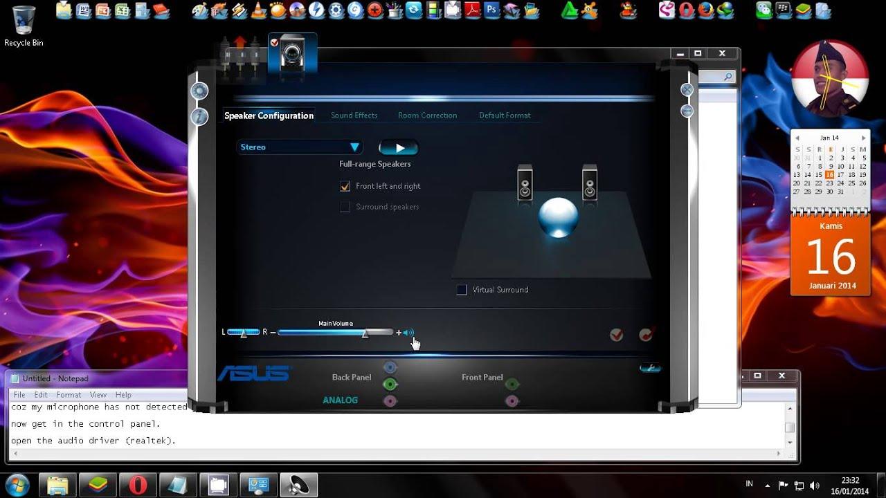 диспетчер реалтек hd для windows 7