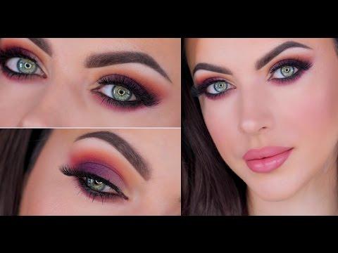 Sunset Inspired Makeup