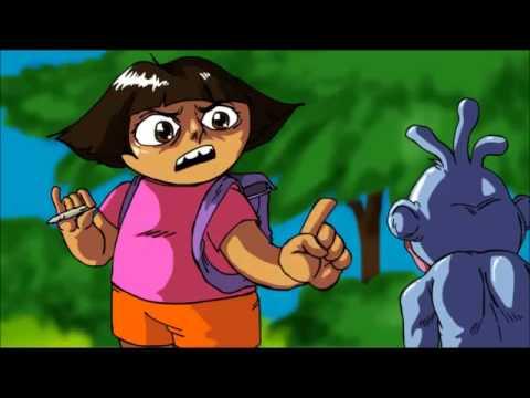 Parodia Dora la exploradora sensual
