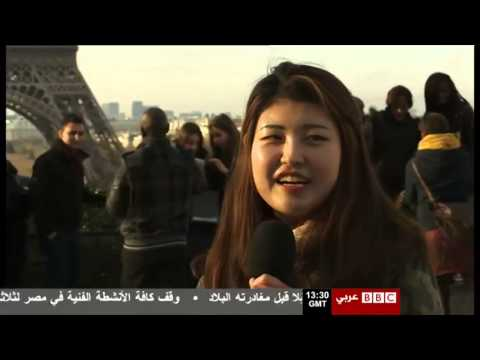 BBC Arabic TV 2015 01 18 Paris Tourism