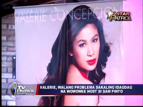 Valerie not threatened by Sam Pinto in Wowowee