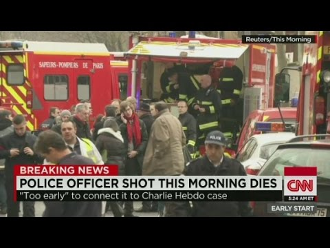 Police officer in Paris suburbs fatally shot