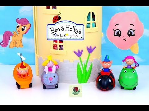 Ben & Holly's Little Kingdom Castle With Shopkins Squish Dee Lish & My Little Pony! itsplaytime612