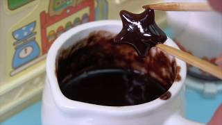 Mini Choco Rusk making in Cooking Toy Kitchen Yummy♪