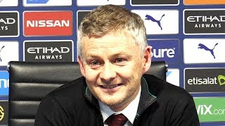Man City 1-2 Man Utd - Ole Gunnar Solskjaer FULL Post Match Press Conference - Premier League