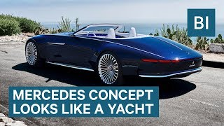 This Electric Mercedes-Benz Concept Looks Like A Luxury Yacht On Wheels