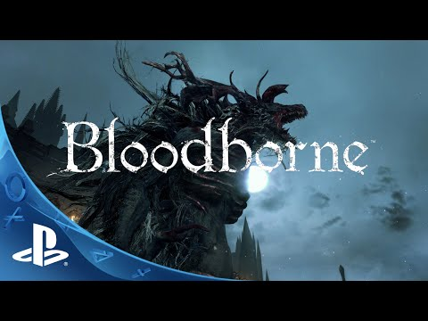 Bloodborne Gameplay Announce Trailer | Gamescom | PlayStation 4 Action RPG