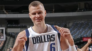 Kristaps Porzingis Is A Unicorn In Dallas | NBA Career Mix