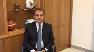 Roma - Il messaggio di Vito Cozzoli (Presidente Sport&Salute) per la 97ª Assemblea elettiva FGI