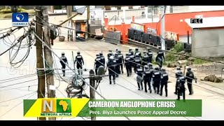 Paul Biya Launches Peace Appeal Decree To Tackle Cameroon Anglophone Crisis |Network Africa|