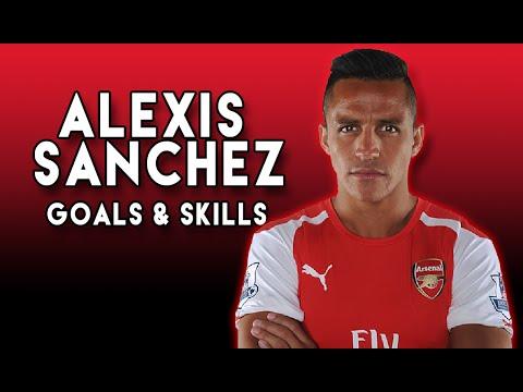 Alexis Sanchez - Goals and Skills