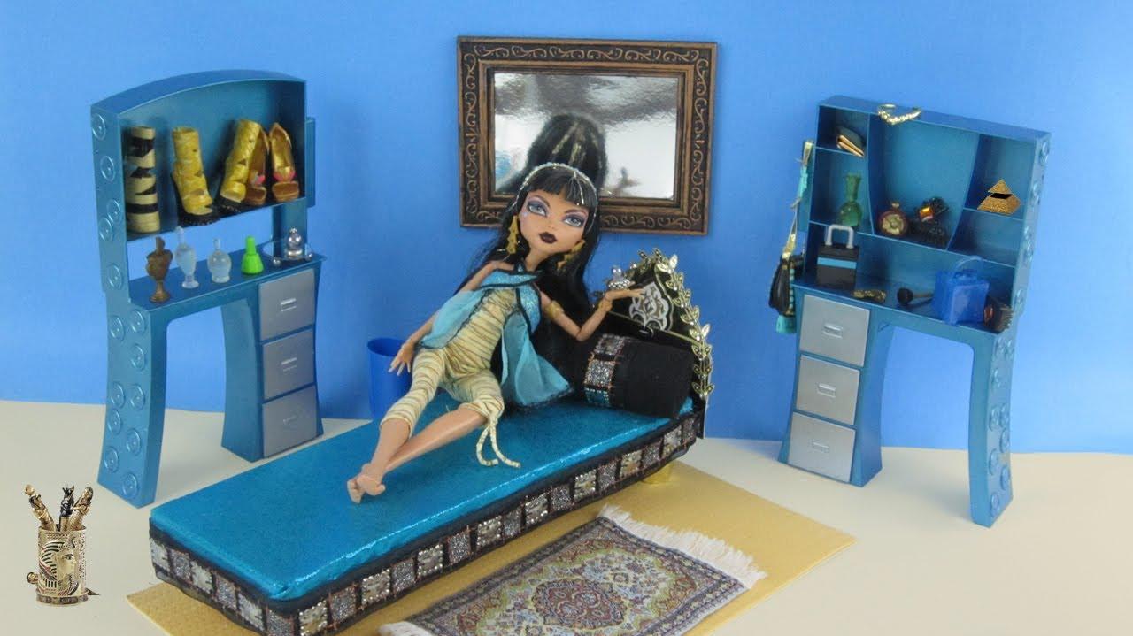 Смотреть как сделать для кукол дом монстер хай 124