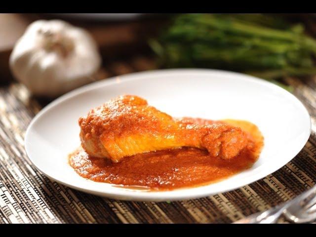 Pollo a la salsa de chorizo y chipotle -  Chicken in Chorizo and chipotle sauce - Recetas de pollo