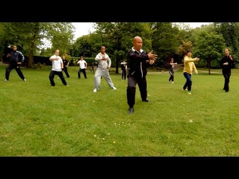 Tai Chi lesson in ipswich park Part 1 Image 1