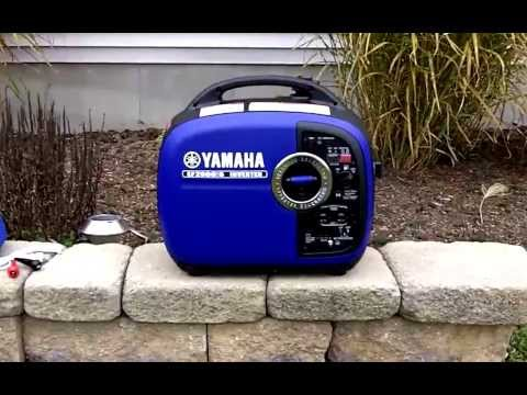 Yamaha 2000 Portable Generator Review + Best Price