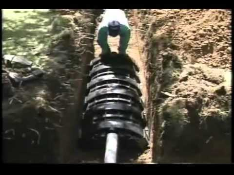 Infiltrator Leach Field Systems Youtube