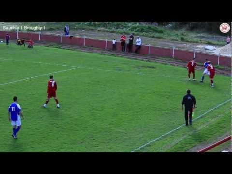 Sauchie Juniors v Broughty Athletic