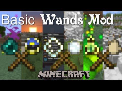 Minecraft: Basic Wands Mod Spotlight [1.6.2] - Spawn Thousands of Chickens and Mine w/ Snowball TNT!