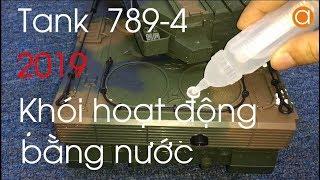Xe Tăng Bắn Đạn Và Có Khói Hoạt Động Bằng Nước Tank 789-4 2019 1:18 - Asun.vn
