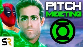 Green Lantern Pitch Meeting