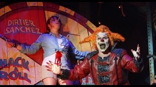 Full FINAL CARNAGE RETURNS of the year at HHN25 Jack The Clown 11/1/2015