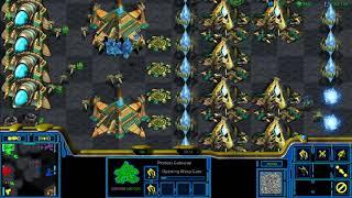 starcraft remastered fastest... 3 vs 3 (protoss)