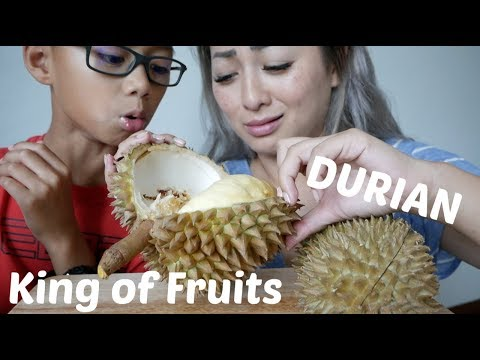 DURIAN King of Fruits | Mukbang Gone Bad? | N.E Let's Eat