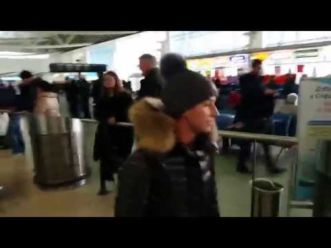 Dominika Cibulkova: Arrival to Sofia to participate at the Garanti Koza WTA Tournament of Champions