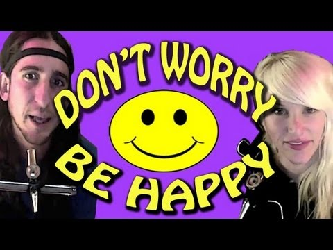 Don't Worry Be Happy - Gianni and Sarah (Walk off the Earth) Music Videos