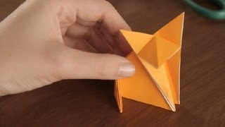 How To Make An Origami Fox : Simple &amp; Fun Origami