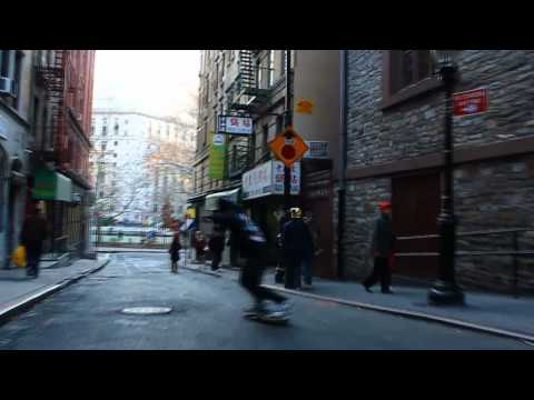 Playing the Skateboards in Chinatown NYC