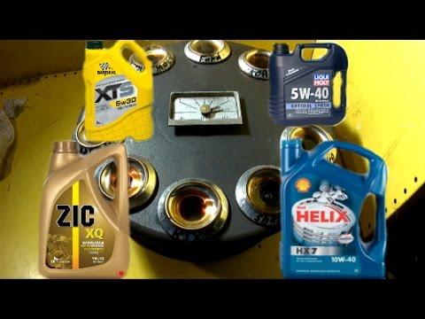 Проверка моторного масла методом нагрева часть 3, зик, форд, кикс, бардаль, эльф
