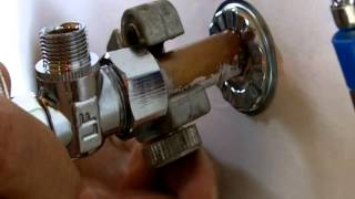 How to Install a Water Shut off Valve for Beginners
