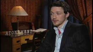 James McAvoy interview for Atonement