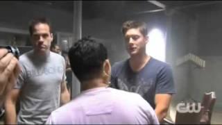 On the Set with 'Supernatural' Director Jensen Ackles