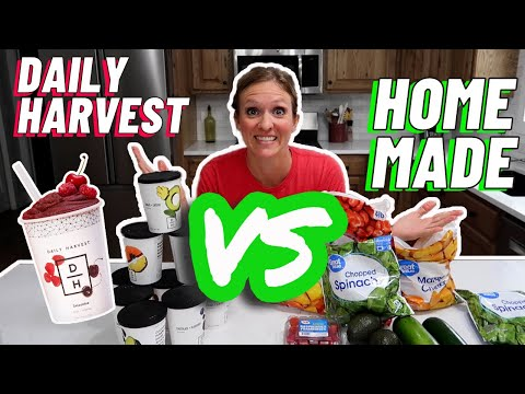 Download Lagu IS FREEZER MEAL PREP WORTH THE TIME? | DAILY HARVEST VS. HOMEMADE | COOK WITH ME COPYCAT RECIPES.mp3