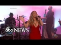Mariah Carey returns to TV after New Year's Eve performance -